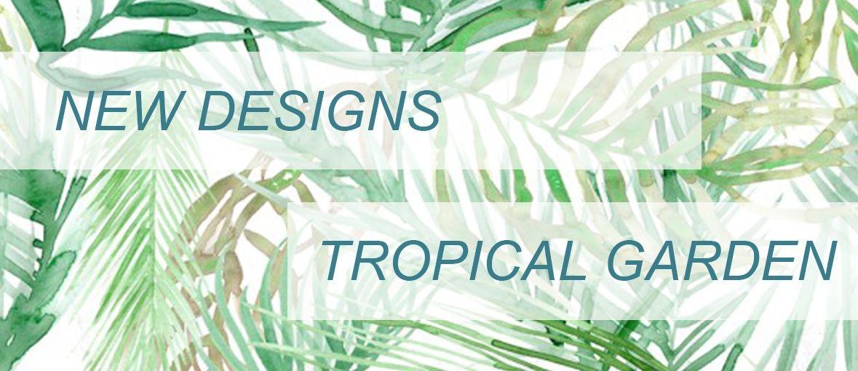 Euroknit tropical garden