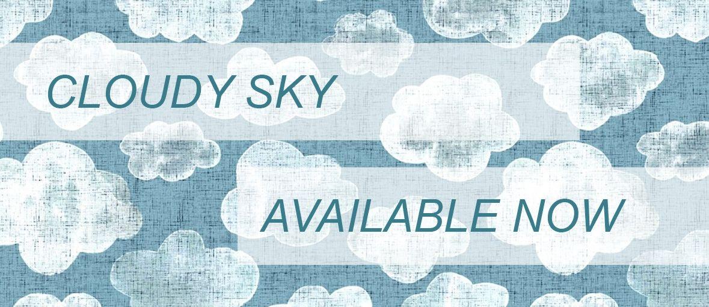 Organic Knit Cloudy Sky
