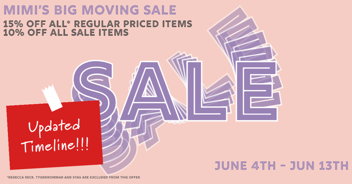 Mimi Moving Sale